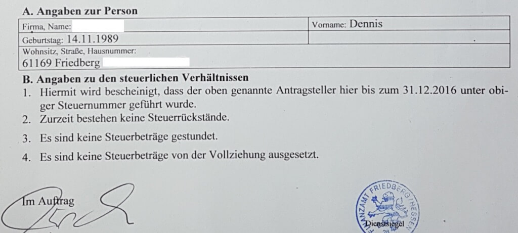Finally dismissed by the German system!